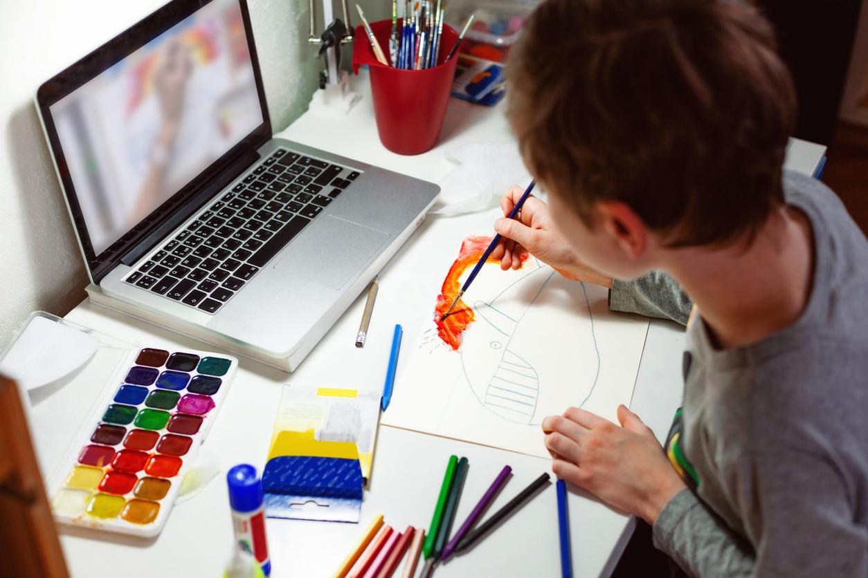 Trabalhando a arte online